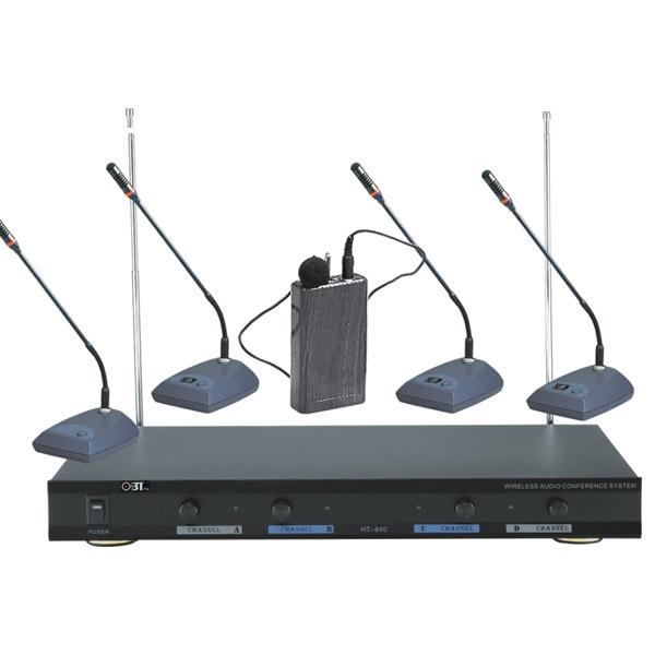 Micro cổ ngỗng để bàn không dây OBT-840
