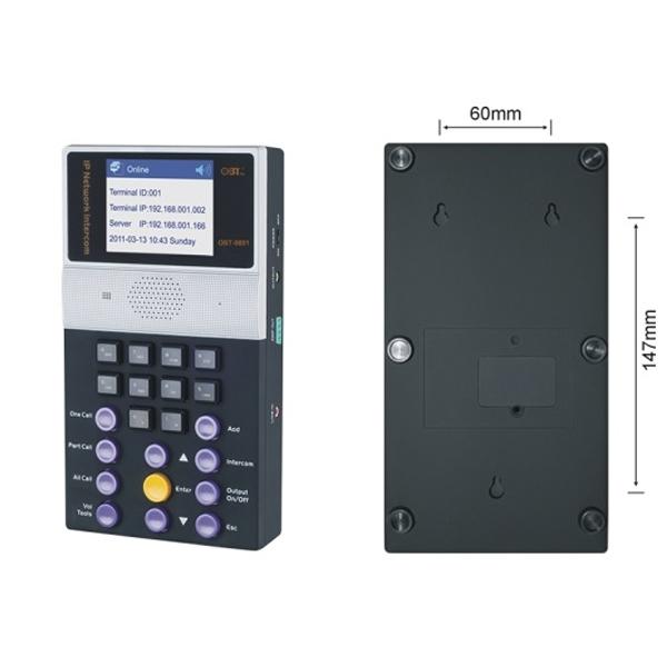 Micro liên lạc hai chiều OBT-9801