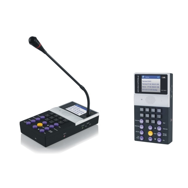 Micro IP OBT 9808 - Micro liên lạc hai chiều IP OBT 9808