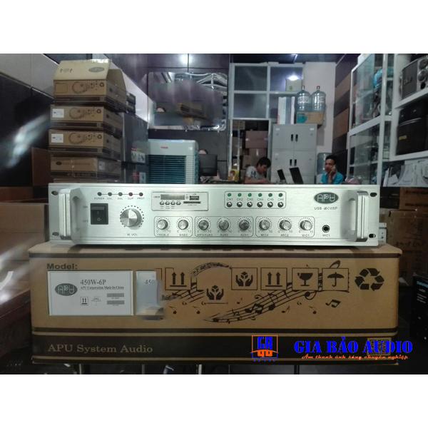 Amply APU USB 450W phân 6 vùng