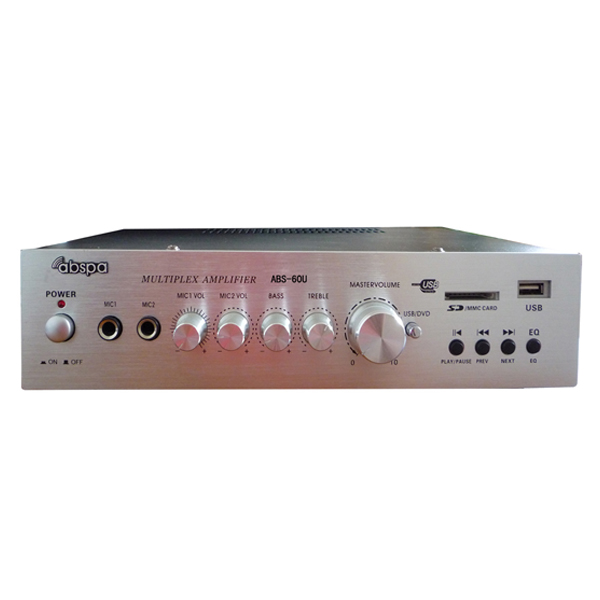 Amply  liền mixer ABS 60U công suất 40W