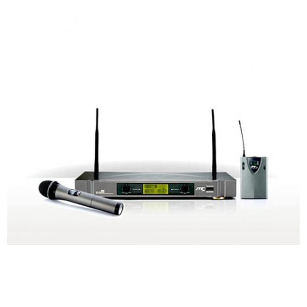Bộ thu UHF và 2 micro cài áo JTS US-902D/PT-850B+CM-501