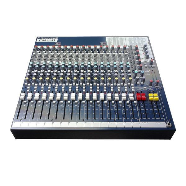 Bàn trộn Mixer Soundcraft FX16ii