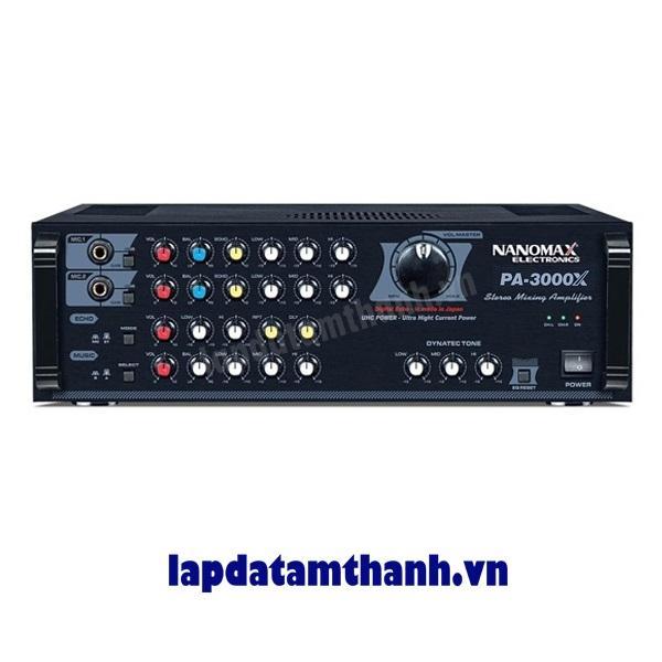 Amply karaoke Nanomax PA 3000X