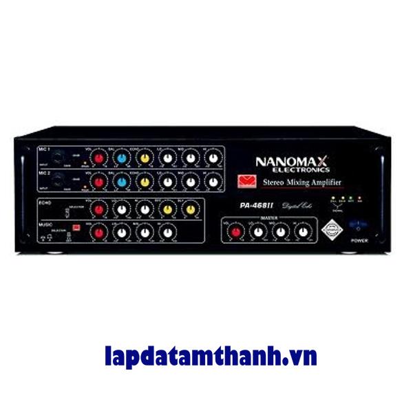 Amply Karaoke Nanomax PA 468II Deley