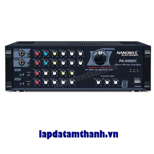 Amply karaoke nanomax PA 5000X