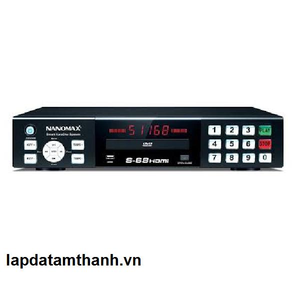 Đầu Đĩa Karaoke NaNoMax S-68HDMI