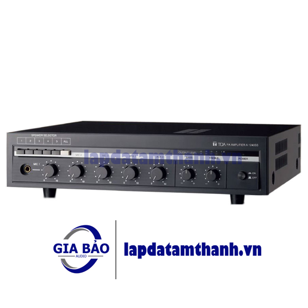 Amply mixer 360W TOA A-1360MK2