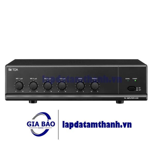 Amply Mixer 30W TOA A-230 HV