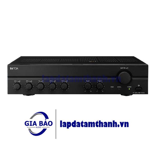 AMPLY Tăng âm truyền thanh liền Mixer Toa A-2120