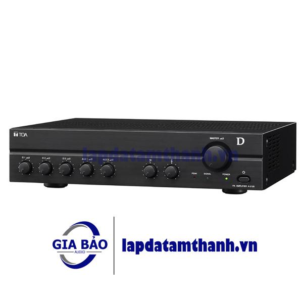 AMPLY Tăng âm truyền thanh liền mixer TOA A-2120D