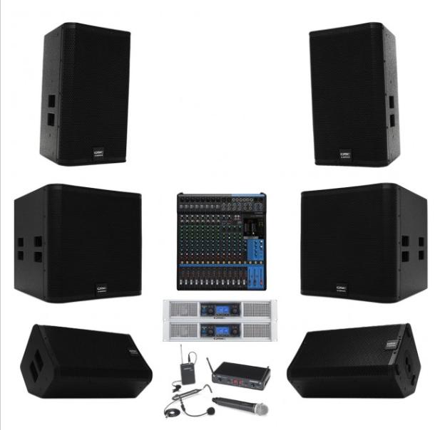 Dàn âm thanh hội trường 50 triệu chất lượng Yamaha/QSC