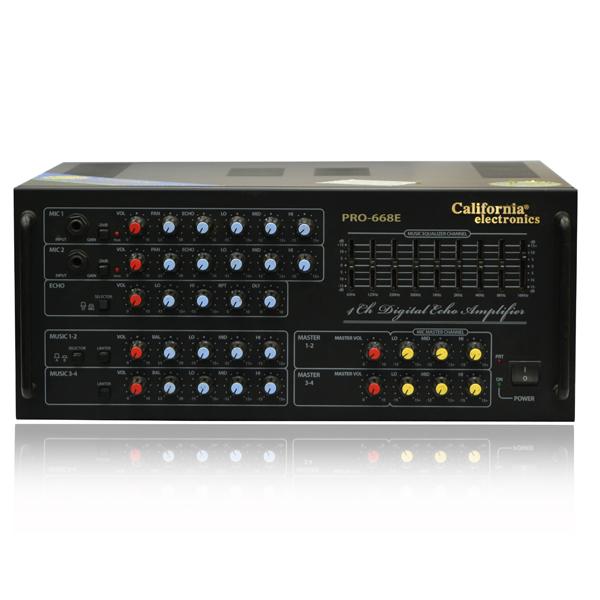 Amply Karaoke California Pro 668E