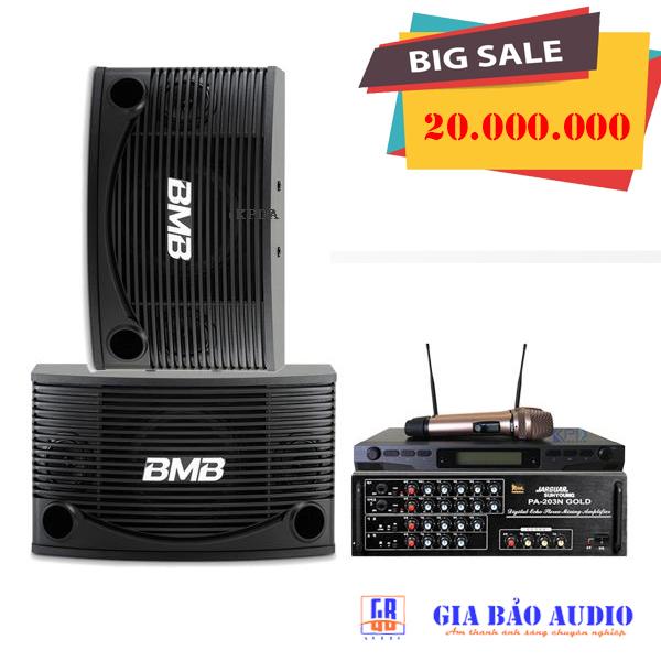 Dàn Karaoke gia đình GBA104 giá 20 triệu đồng