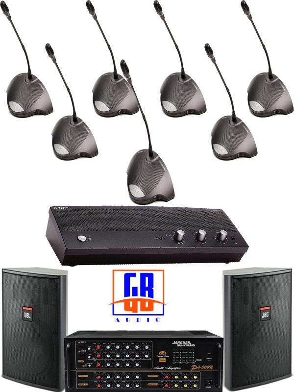 Hệ thống âm thanh hội thảo, âm thanh phòng họp 20 triệu BOSCH