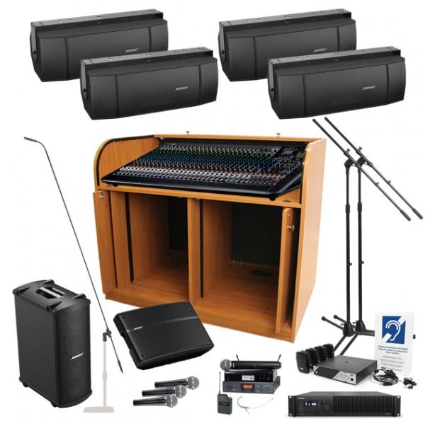 Dàn âm thanh hội trường 100 triệu chất lượng Yamaha/Bose