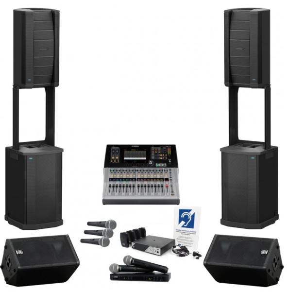 Dàn âm thanh hội trường lớn trên 200m2 chất lượng của Bose/Yamaha/Shure