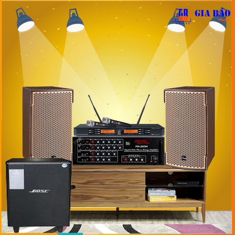 Dàn Karaoke cao cấp GBA 18 New