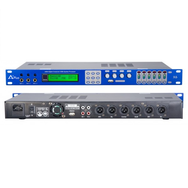 Vang số Aplus X8 - Mixer kỹ thuật số Aplus-X8