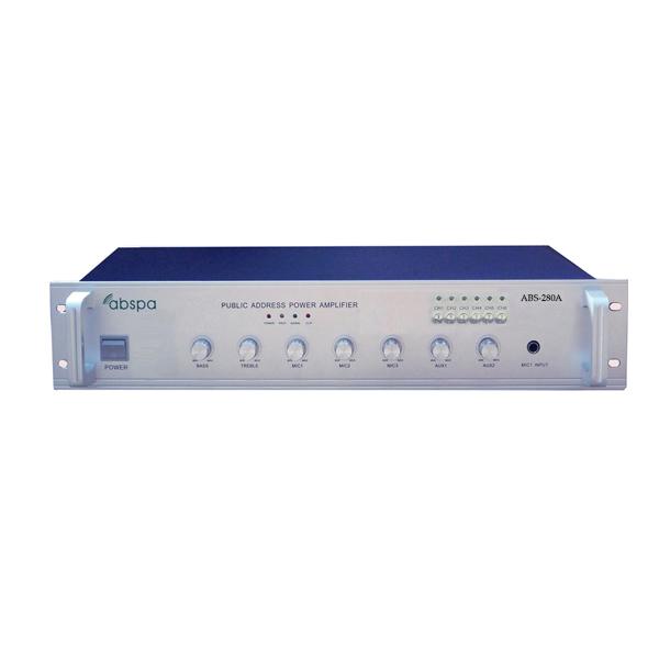 Amply 6 vùng ABS 280A công suất 280W
