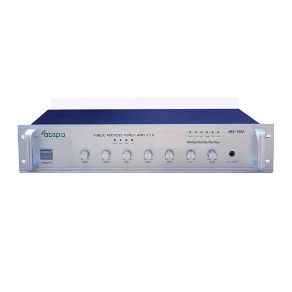 Amply chọn 6 vùng ABS 120A công suất 120W