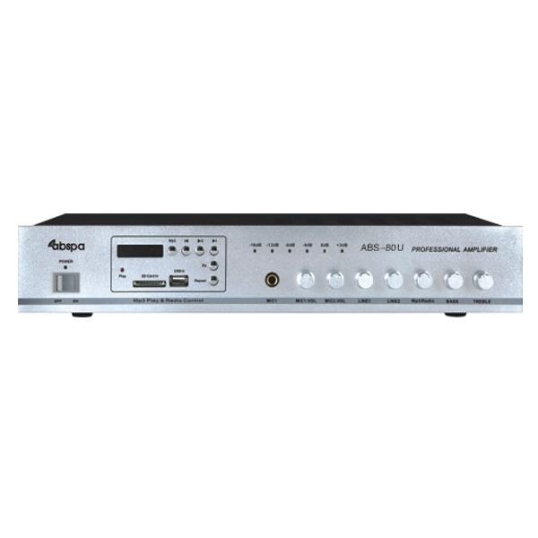 Amply liền mixer ABS 80U công suất 80W giá rẻ