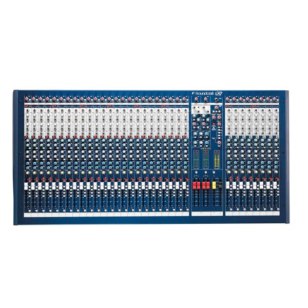 Bàn trộn Mixer Soundcraft LX7ii/24