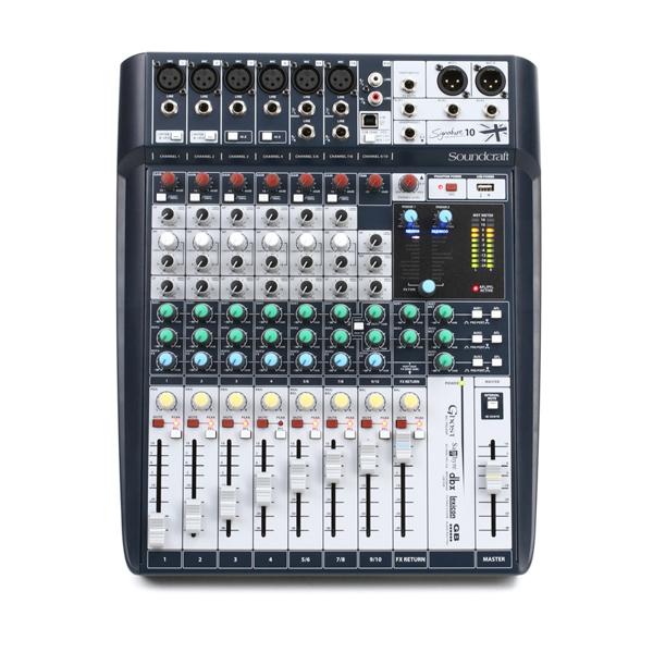 Bàn trộn Mixer Soundcraft Signature 10