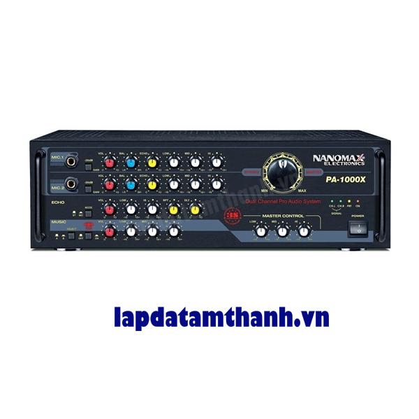 Amply Karaoke Nanomax PA 1100X Delay