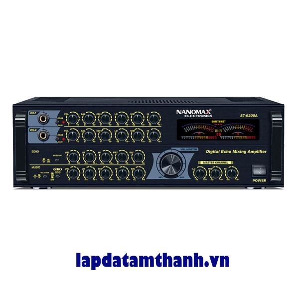 Amply karaoke nanomax ST 6200A