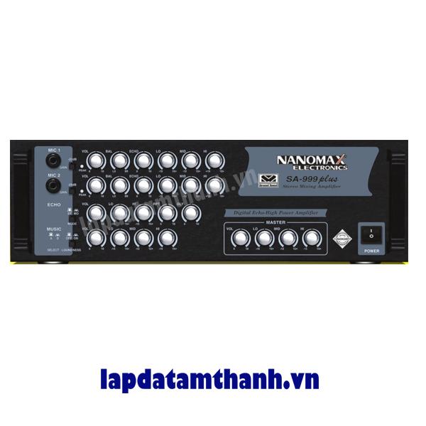 Amply karaoke nanomax SA 999Plus
