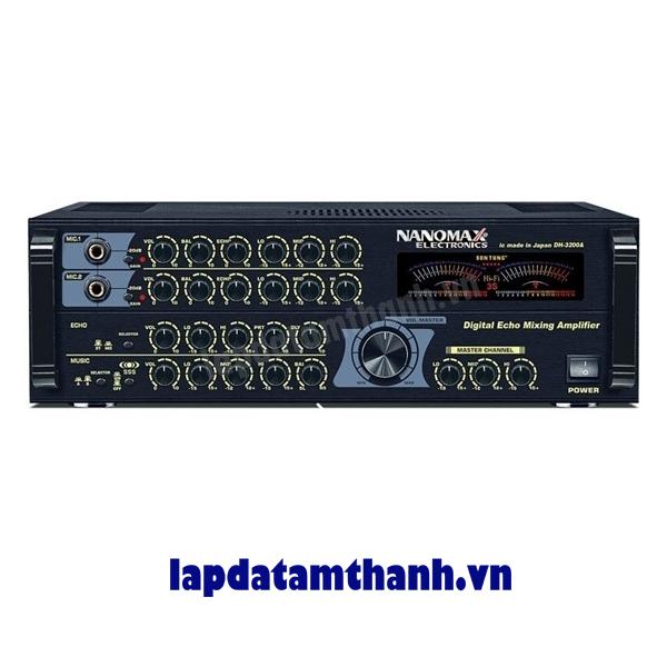 Amply karaoke Nanomax DH 3200A