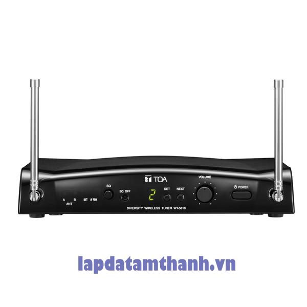 Bộ thu không dây để bàn TOA UHF WT-5810 F01